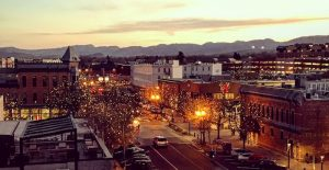 Downtown Fort Collins Colorado