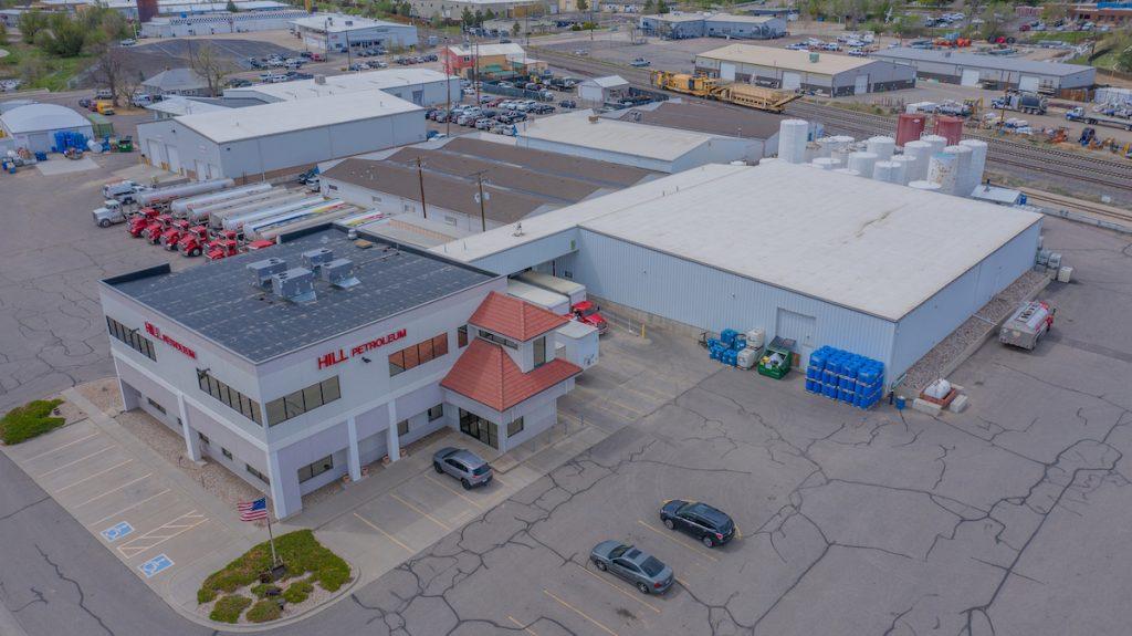Large commercial building in Denver Colorado