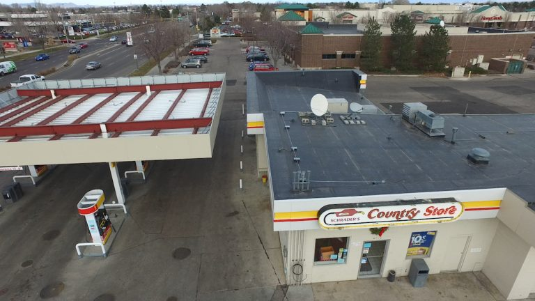 Fort Collins county store gas station roof replacement
