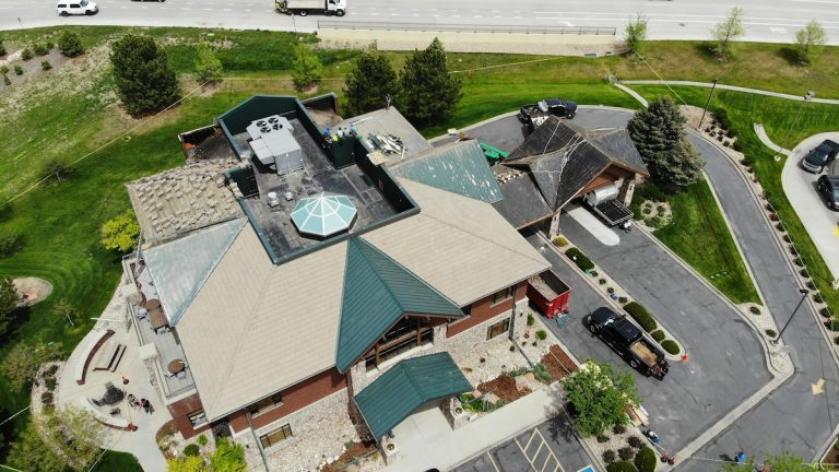 Fort Collins building roof replacement