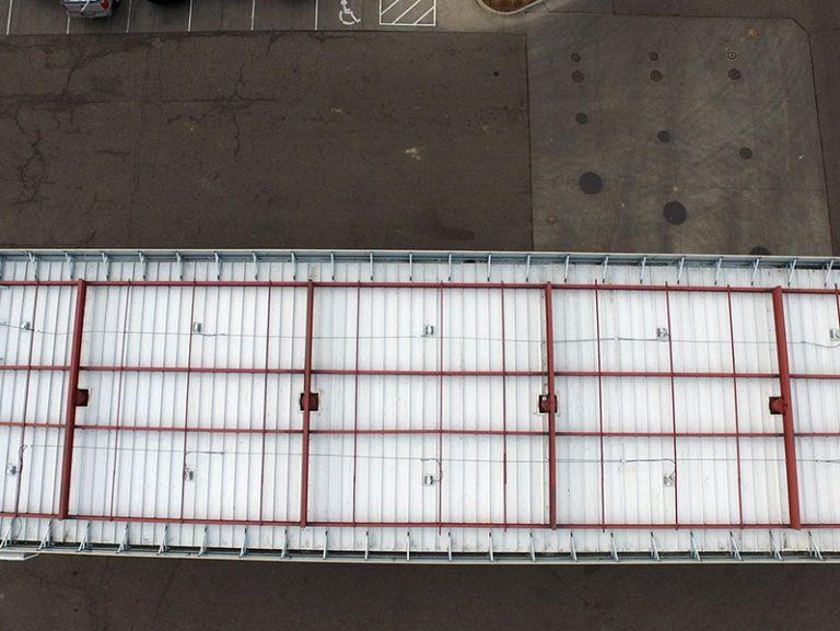 Commercial timberline roof repair